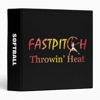 Fast Pitch Softball Version 2 Vinyl Binders