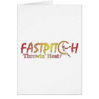 Fast Pitch Softball Version 2 Card