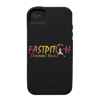 Fast Pitch Softball Version 2 Vibe iPhone 4 Cases