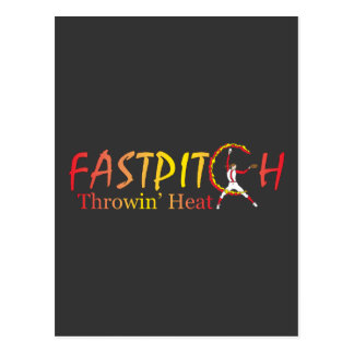 Fast Pitch Softball Version 2 Postcard