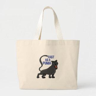 Fast Puma Large Tote Bag