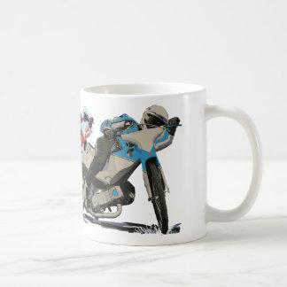 Fast Red Speedway Motorcycle Coffee Mug