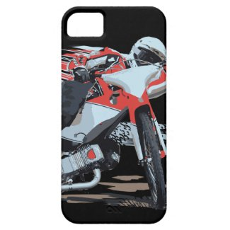 Fast Red Speedway Motorcycle iPhone 5/5S Covers