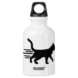 Fast running cat SIGG traveler 0.3L water bottle