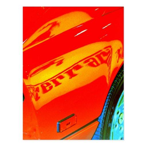Fast Speed Postcard
