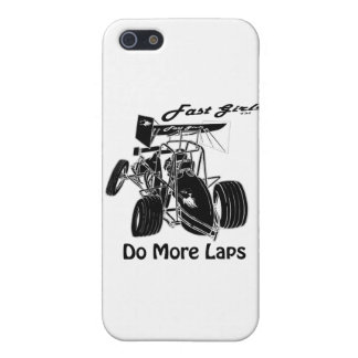 Fast Sprints Sprint Car Series iPhone SE/5/5s Case
