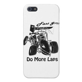 Fast Sprints Sprint Car Series iPhone SE/5/5s Cover