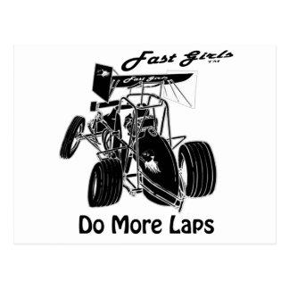 Fast Sprints Sprint Car Series Postcard