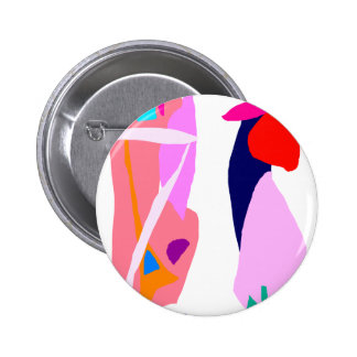 Fast Thought 2 Inch Round Button