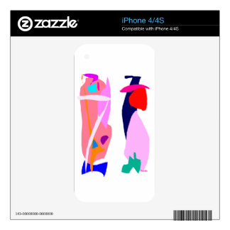 Fast Thought iPhone 4 Skins
