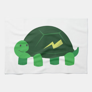 Fast Turtle Hand Towels