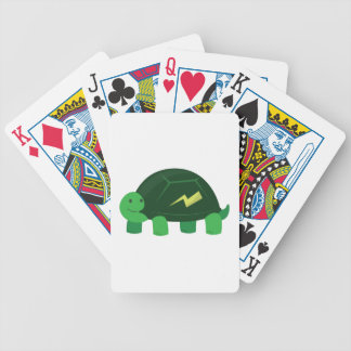 Fast Turtle Bicycle Playing Cards