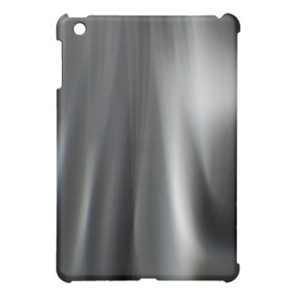 Fast Waves Texture: Jet Stream Black Motion Trails Cover For The iPad Mini