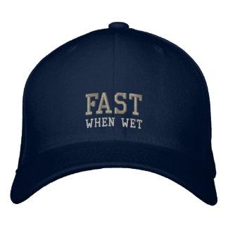 fast, when wet hat