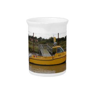 Fast Workboat Little Winnie Beverage Pitcher