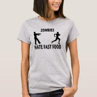Fast (zombie) Food T-Shirt