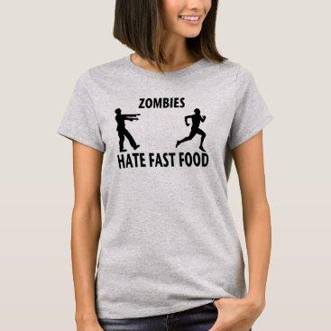 thezombiezone Fast (zombie) Food T-Shirt