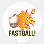 Fastball Sticker