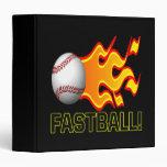 Fastball Vinyl Binder