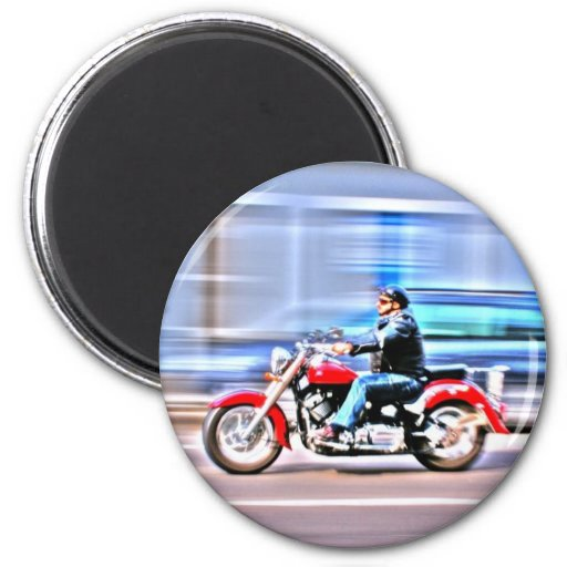 Fastbiker Imán De Frigorifico