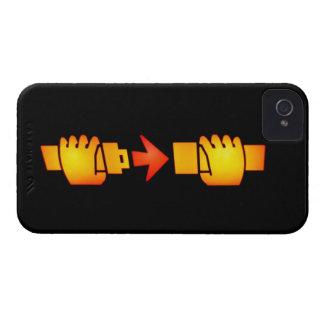 Fasten Seat Belt Sign Blackberry Bold Case