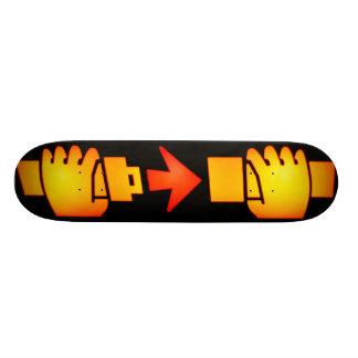 Fasten Seat Belt Sign Skateboard Pro