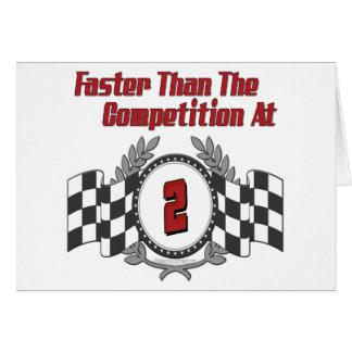 Faster At 2 Card