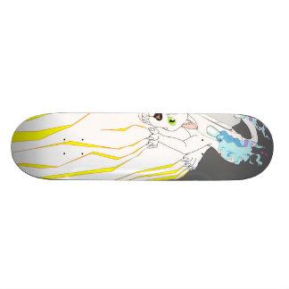 Faster Motor Cat Skateboard Deck