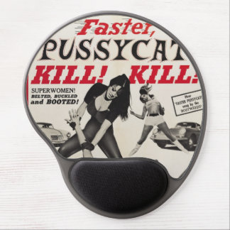 Faster Pussycat Gel Mouse Pad