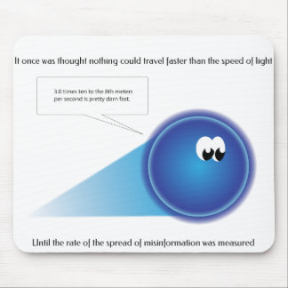Faster Than Light Mouse Pad