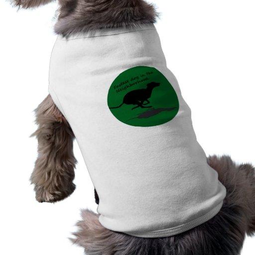 Fastest Dog in the Neighborhood Doggie Shirt