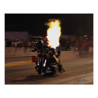 Fastest Drag Bike On The Planet 250.97 MPH_MG8565 Poster