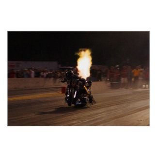 """FASTEST DRAG BIKE ON THE PLANET"" 250.97 POSTER"