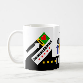 """Fastest Human"" Classic White Coffee Mug"