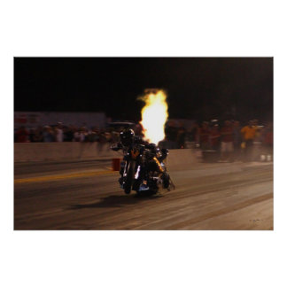 """FASTEST TOP FUEL DRAG BIKE ON THE PLANET POSTER"