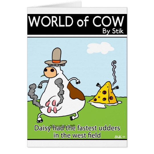 Fastest Udders in the West! Card