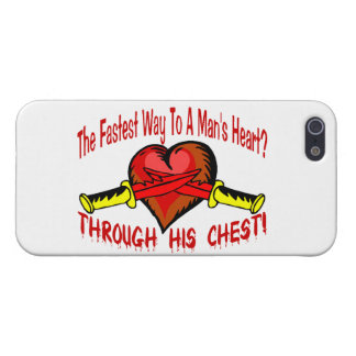 Fastest Way To A Mans Heart iPhone SE/5/5s Case