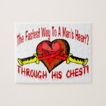 Fastest Way To A Mans Heart Jigsaw Puzzles