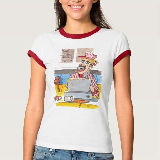 Fastfood cashierT-Shirt Tshirt T-Shirt, Hoodie, Sweatshirt