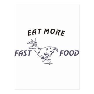 FASTFOOD_DEER POST CARDS