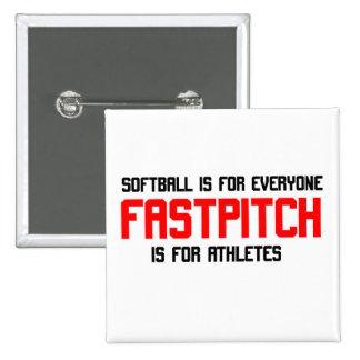 FastPitch Pinback Button