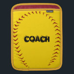 "Fastpitch iPad Sleeve<br><div class=""desc"">This fastpitch softball iPad sleeve will make a great gift for coach or player.  Personalize with a name,  number or team name.</div>"