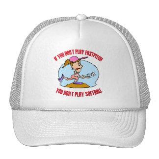 Fastpitch is Softball Trucker Hat