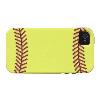 Fastpitch softball 2 iPhone 4 case