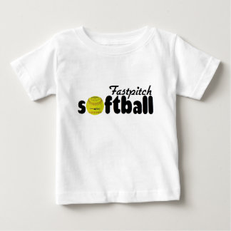 Fastpitch Softball Baby T-Shirt