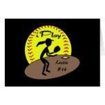 Fastpitch Softball Card