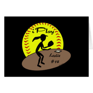 Fastpitch Softball Card