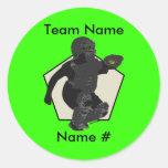 Fastpitch Softball Catcher Sticker