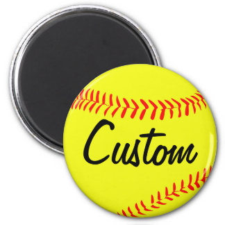 Fastpitch Softball Custom Magnet