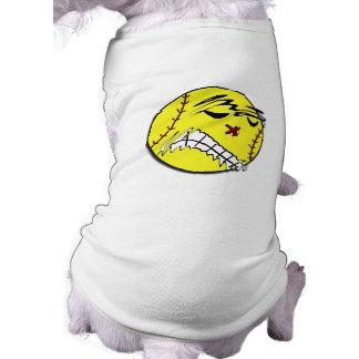 Fastpitch Softball Dog Shirt